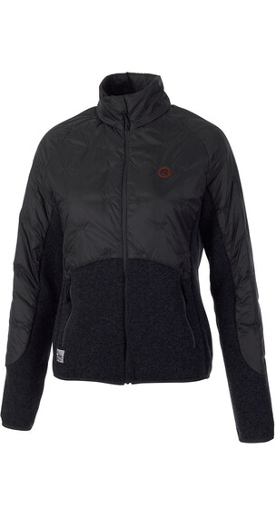 Maloja W's WallomaM. Hybrid Fleece Jacket charcoal